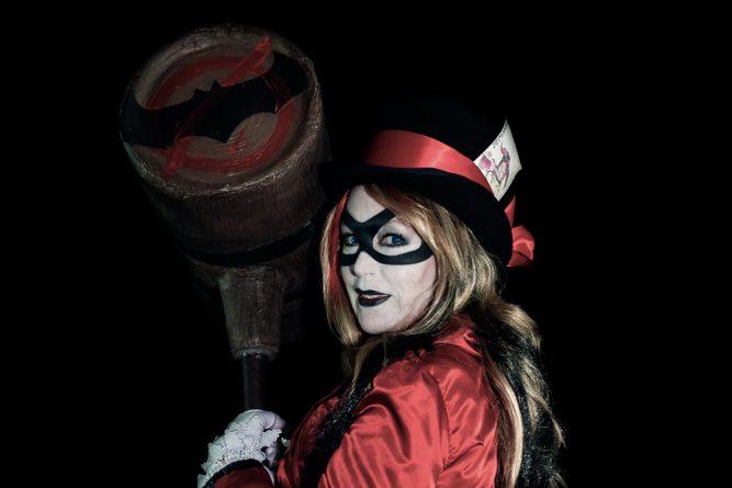 Burlesque Harley Quinn