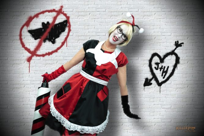 Retro Harley Quinn